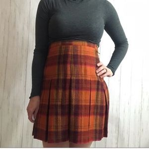 The Limited Vintage Wool High Waisted Skirt